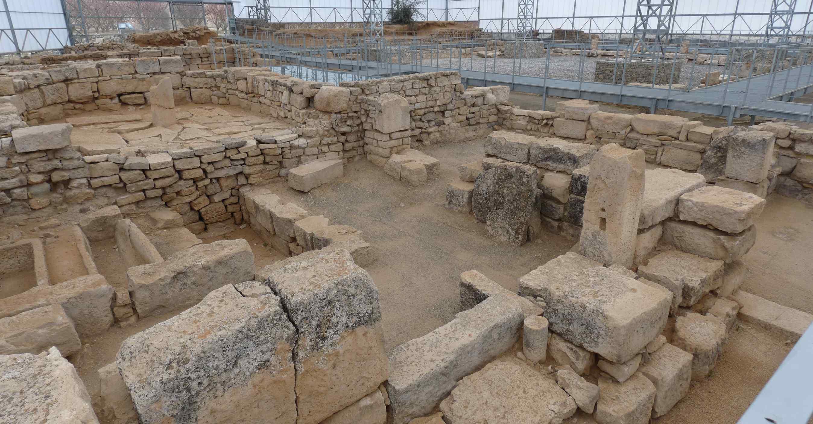 Villa fortunatus los vestigios romanos del bajo cinca for Villas romanas