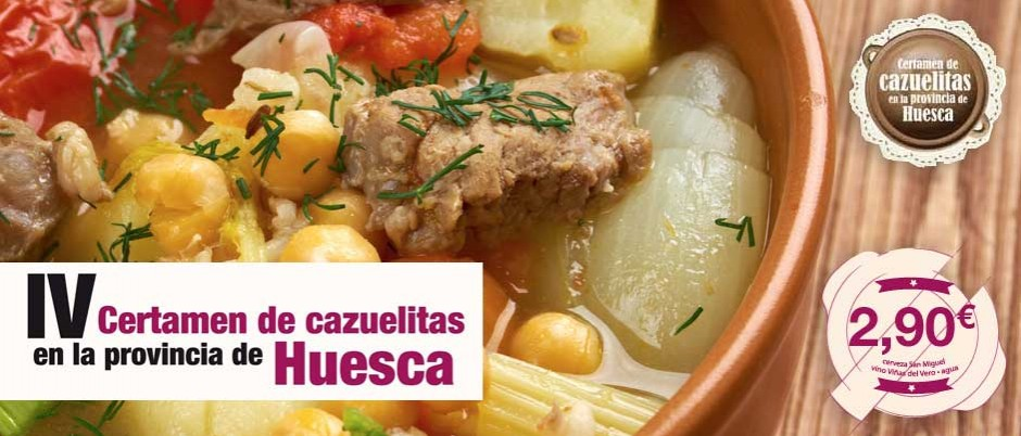 Cazuelitas Huesca