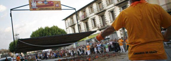 La Longaniza más grande del Mundo! Bienvenidos a la gran Fiesta de la Longaniza de Graus.
