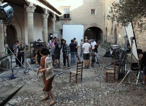 'LA NOVIA' rodada en Huesca y nominada a los Oscar! Se proyectará mañana en uno de sus platós, el Monasterio de Casbas.