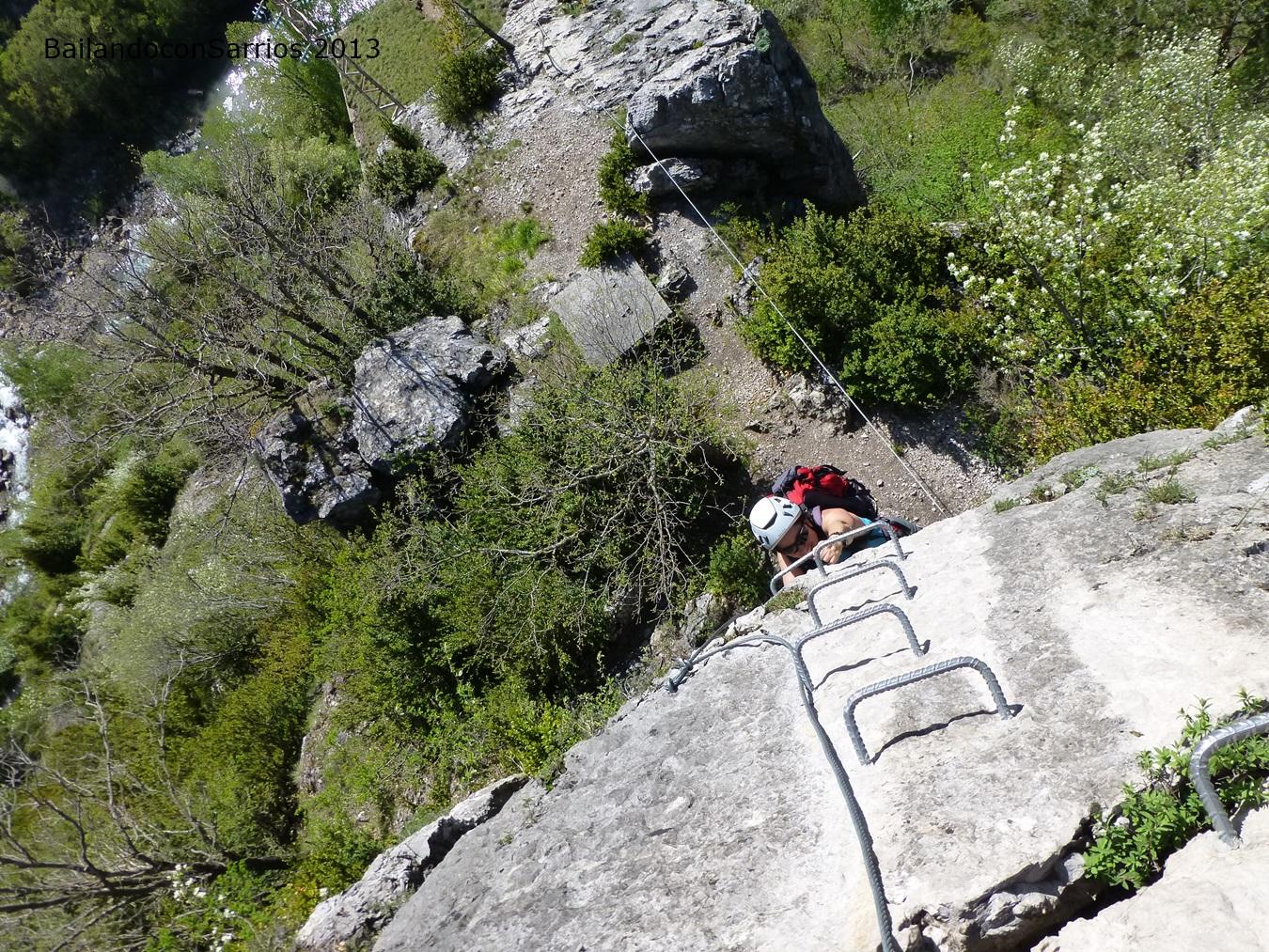 Vía Ferrata Santa Elena de Biescas de saritaymane.blogspot.com