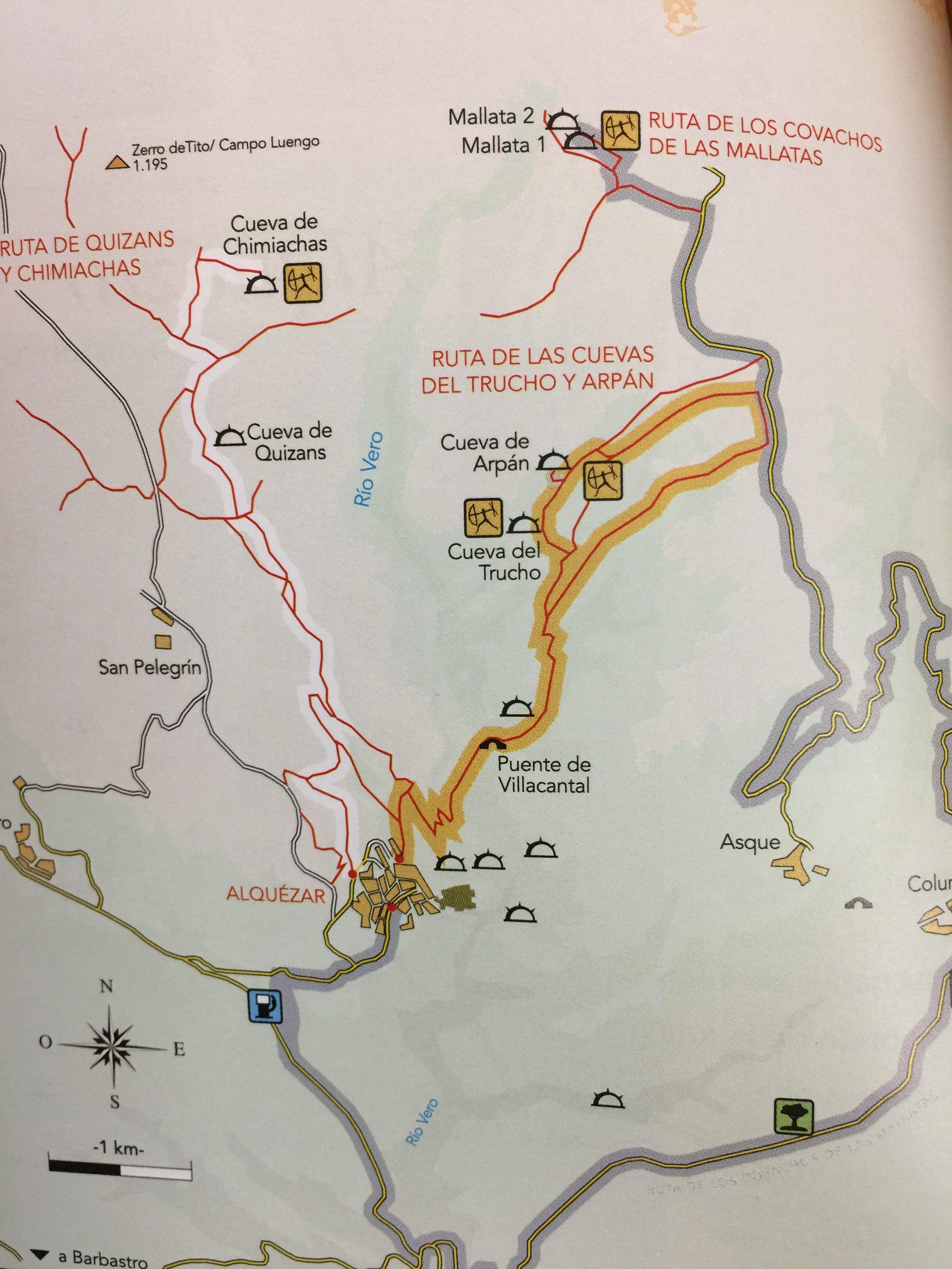 rutas-rupestres-somontano-mapa