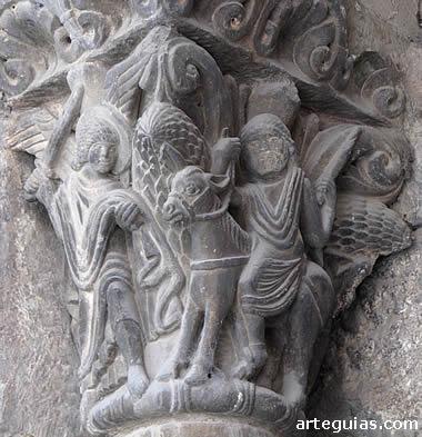 Capitel de Baalam. Fuente: http://www.arteguias.com/