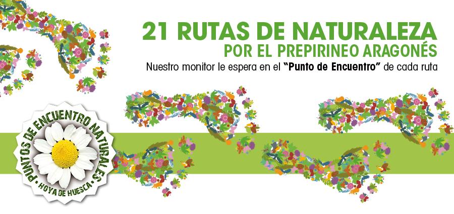Disfruta de la Hoya de Huesca con 21 rutas naturales