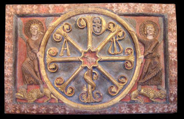 Crismón Museo Diocesano de Barbastro