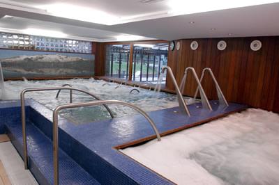 Instalaciones del Balnerario Baños de Benasque