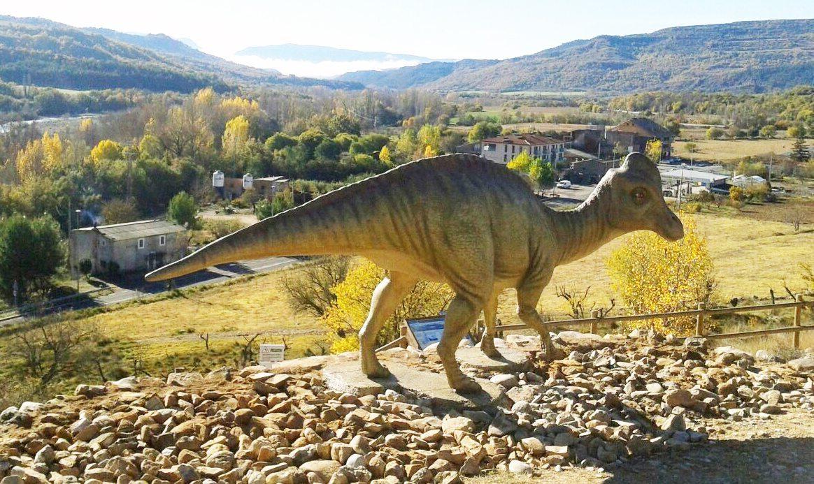 La Ruta de los Dinosaurios en Arén 🦖🦎