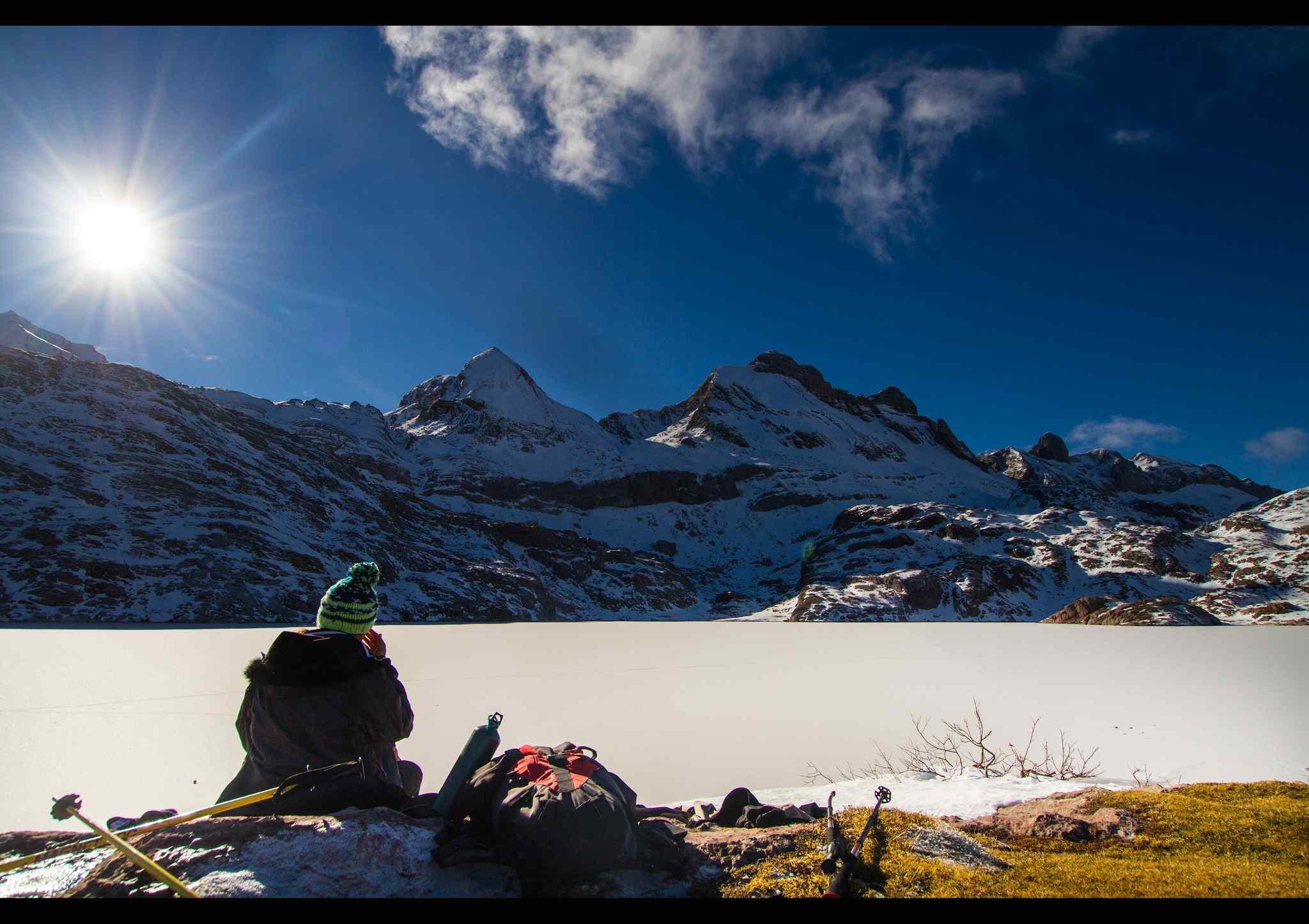 ❄️⛷ Tres destinos para practicar raquetas de nieve en Huesca