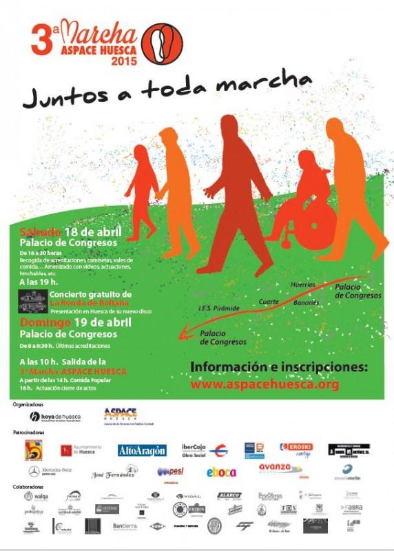 Cartel Marcha Aspace