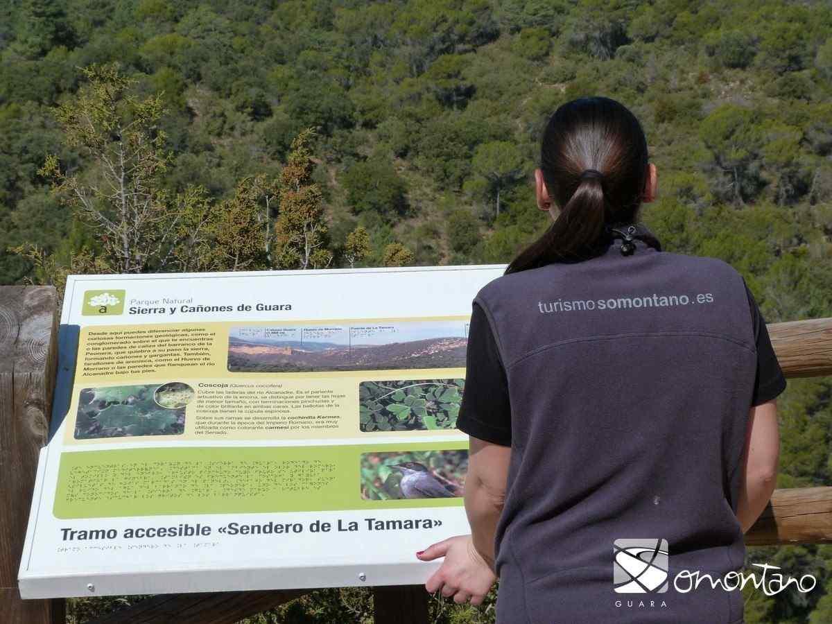 Senderos accesibles en el Parque Natural de los Cañones y Sierra de Guara. ♿️