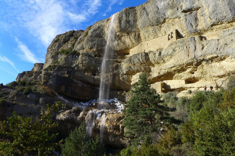 Ermita Santa Orosia - Cascada del Chorro - Fotografía de http://www.excursionesporhuesca.es
