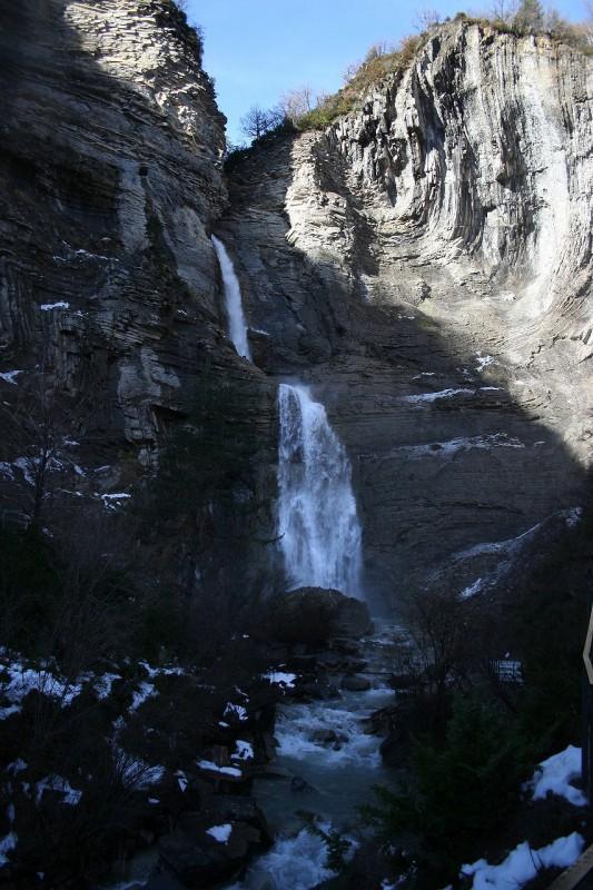 Cascada Sorrosal por www.excursionesporhuesca.es