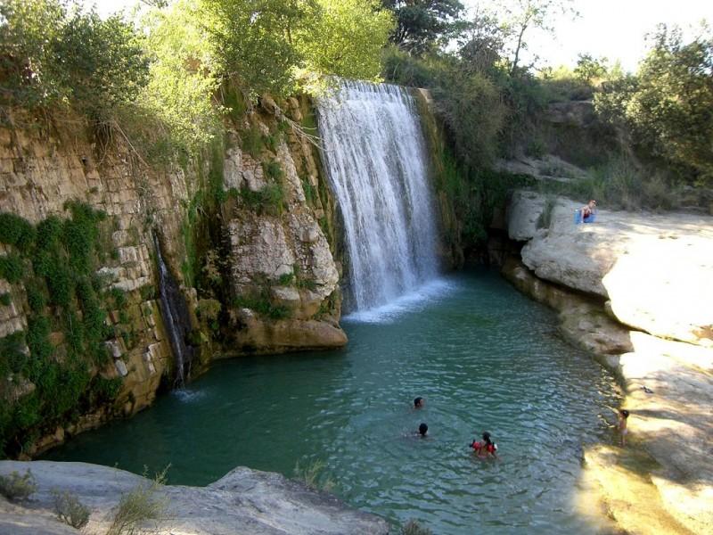 Salto de pozan de vero - www.excursionesporhuesca.es