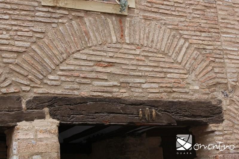 Proteccion casas Alquézar jabalí