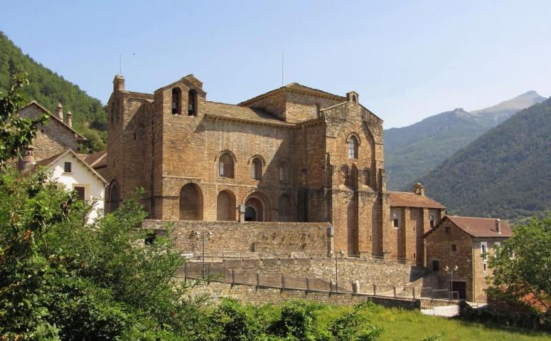 Monasterio de San Pedro de Siresa de fotoviajero.com