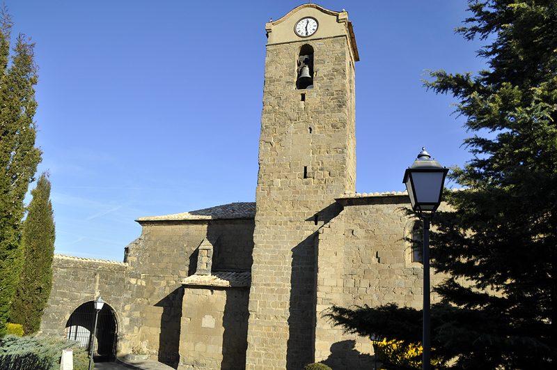 San Pedro de la Sede del Real de Bailo de www.aspejacetania.com