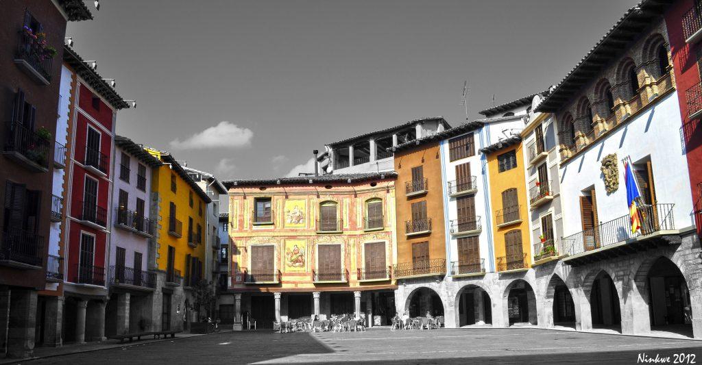 plaza mayor graus panoramio
