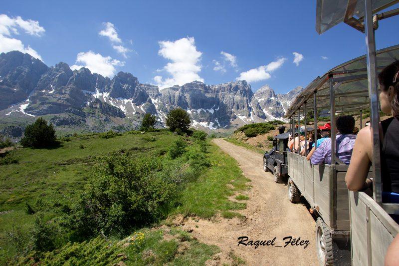 Raquel Félez Tren turístico Valle de Tena