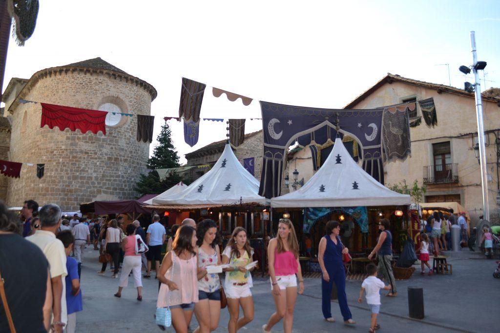 Mercado Medieval de las Tres Culturas, Jaca. Fotografía de noticiashuesca.com