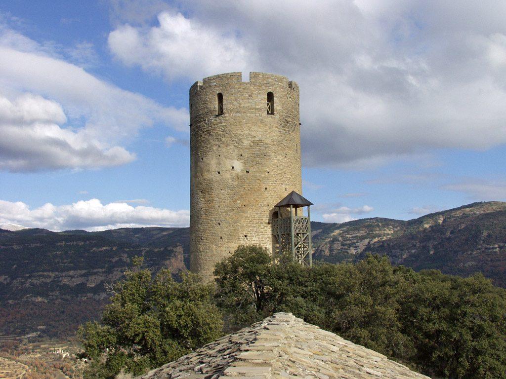 Castillo de Fantova fotografía de Comarca de La Ribagorza en Flickr