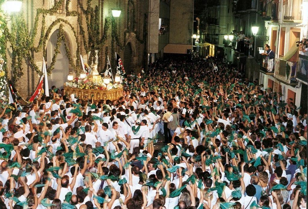Despedida al Santo - Fiestas San Lorenzo. Fotografía de hdosoconsultores.com