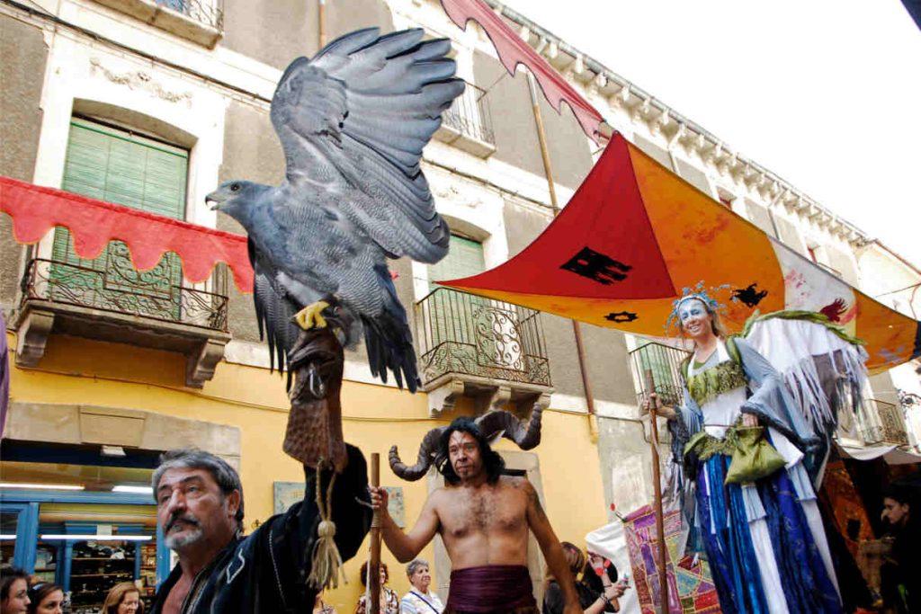 Mercado Medieval de las Tres Culturas, Jaca. Fotografía de www.dphuesca.es
