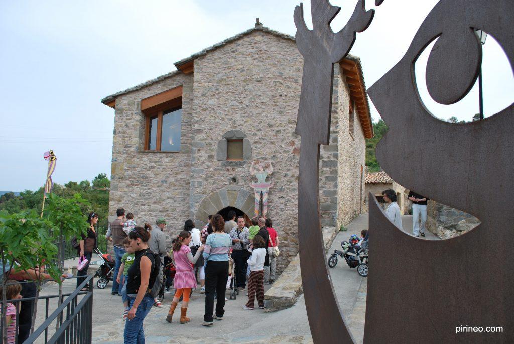 La Casa de los Títeres Abizanda de www.pirineo.com