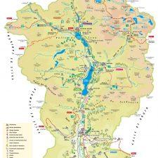 mapa-valle de tena