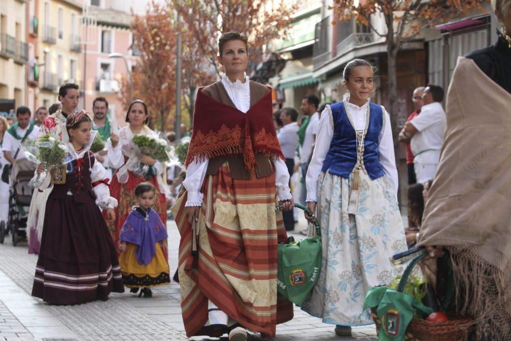 Ofrenda del dia 15 - Fiestas de San Lorenzo de Huesca /Foto Rafael Gobantes