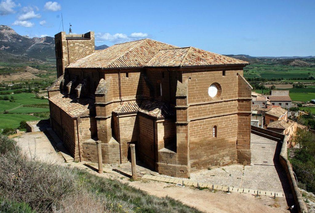 Colegiata de Bolea de aquicoral.blogspot.com