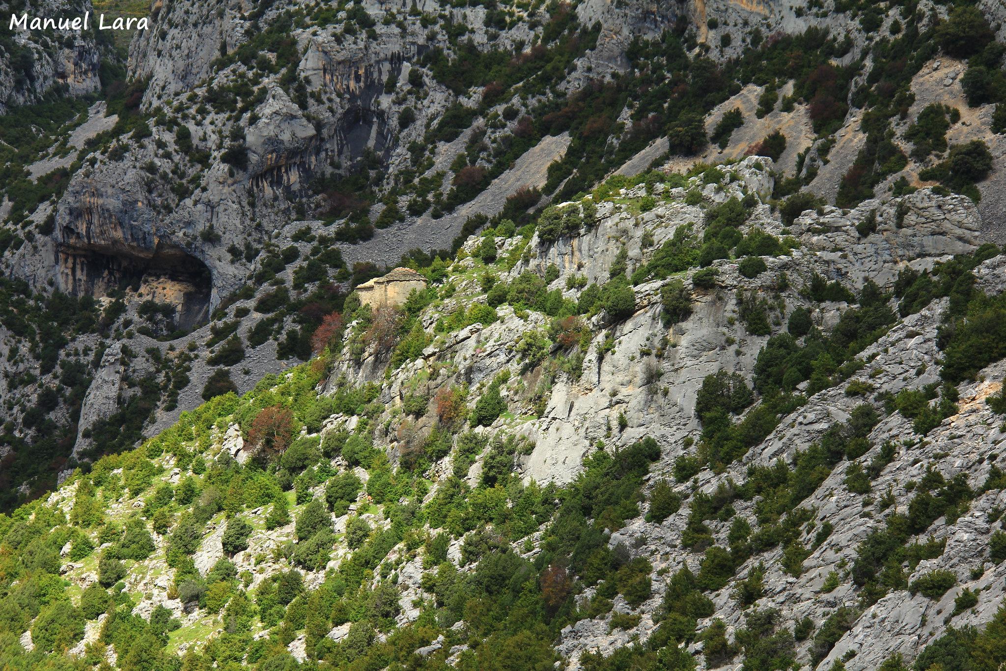 👣⛪️  Un paseo espectacular a la Virgen del Castillo de Rodellar
