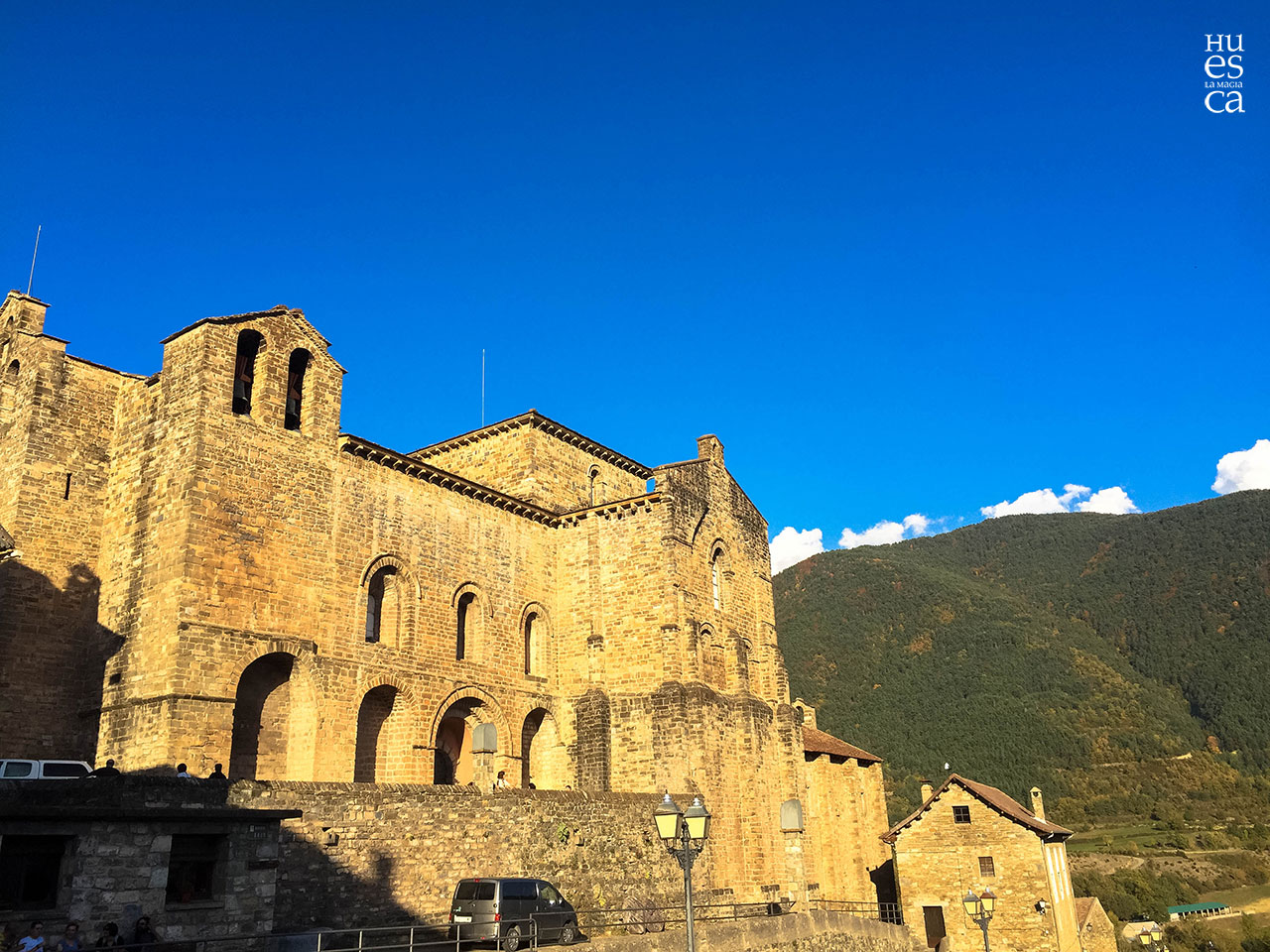 ⛪️ San Pedro de Siresa, donde Alfonso I se forjó como Batallador 👑