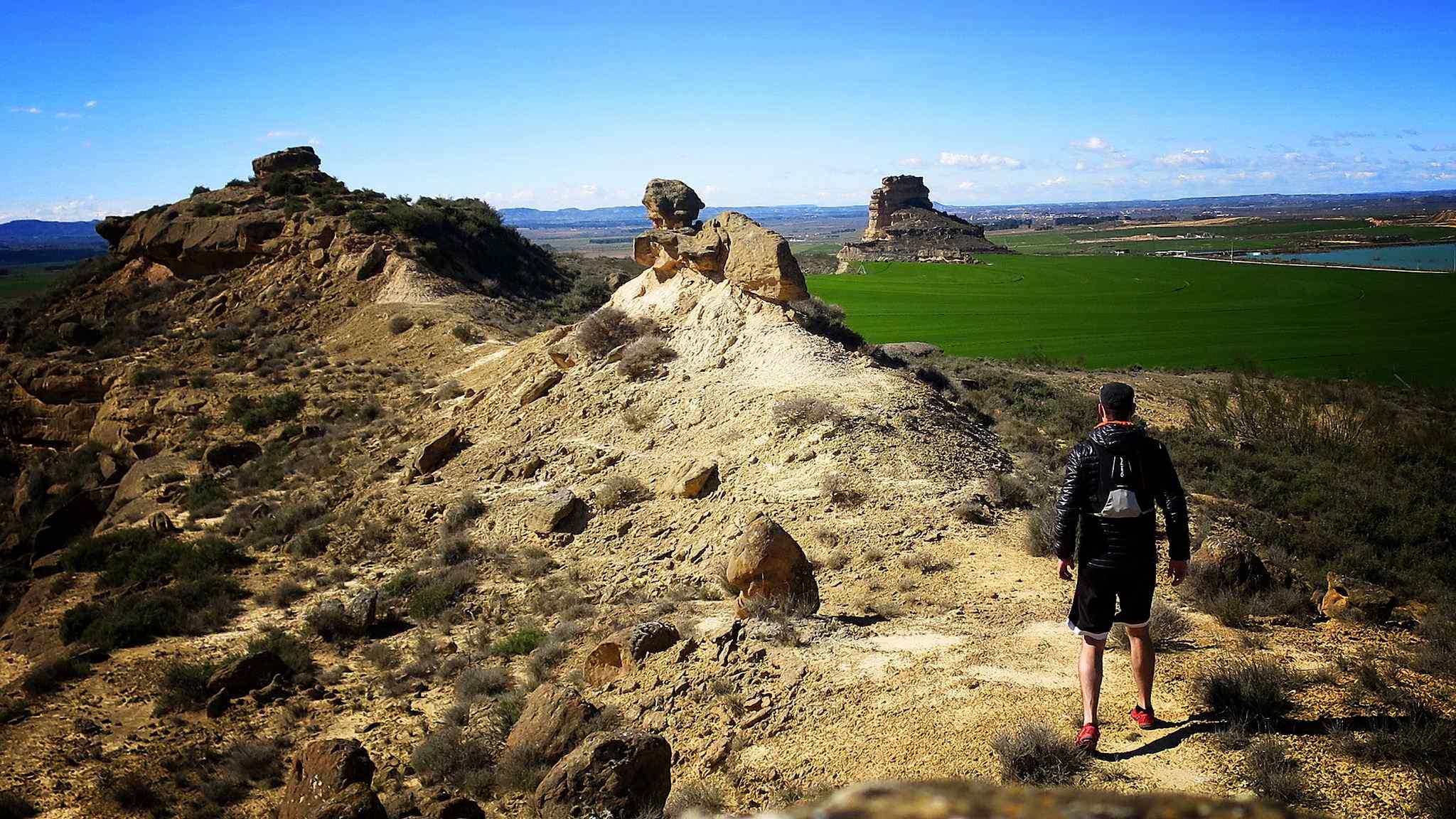 🌵 Ruta de los Torrollones ¡El Lejano Oeste en los Monegros! 🌵