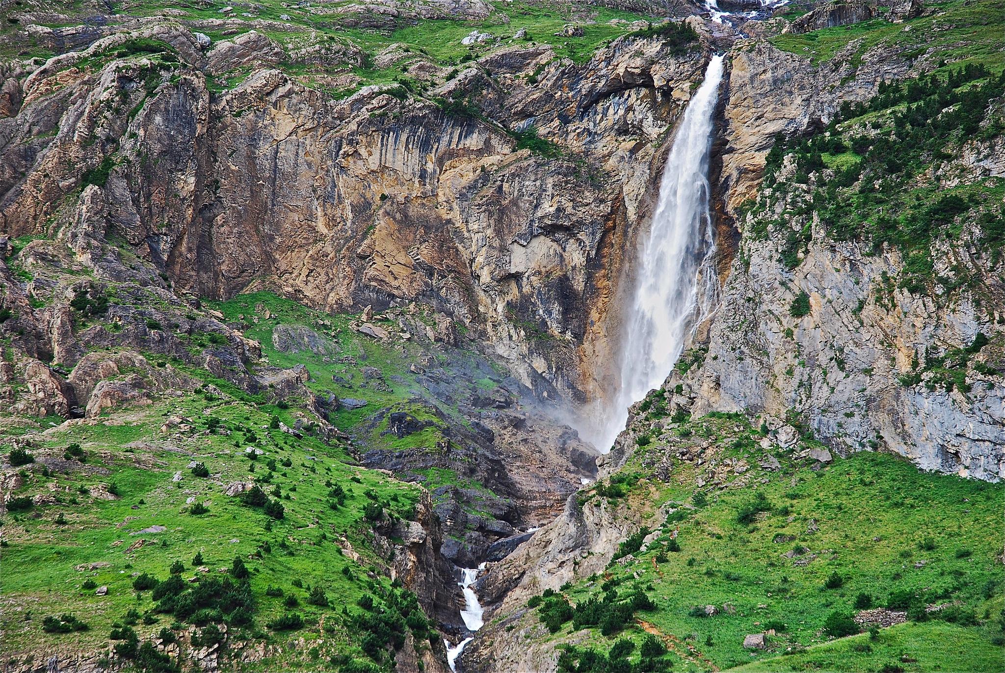 Excursión a los Churros de Marmorés 💦 en el Valle de Pineta  (Cascadas del Cinca)