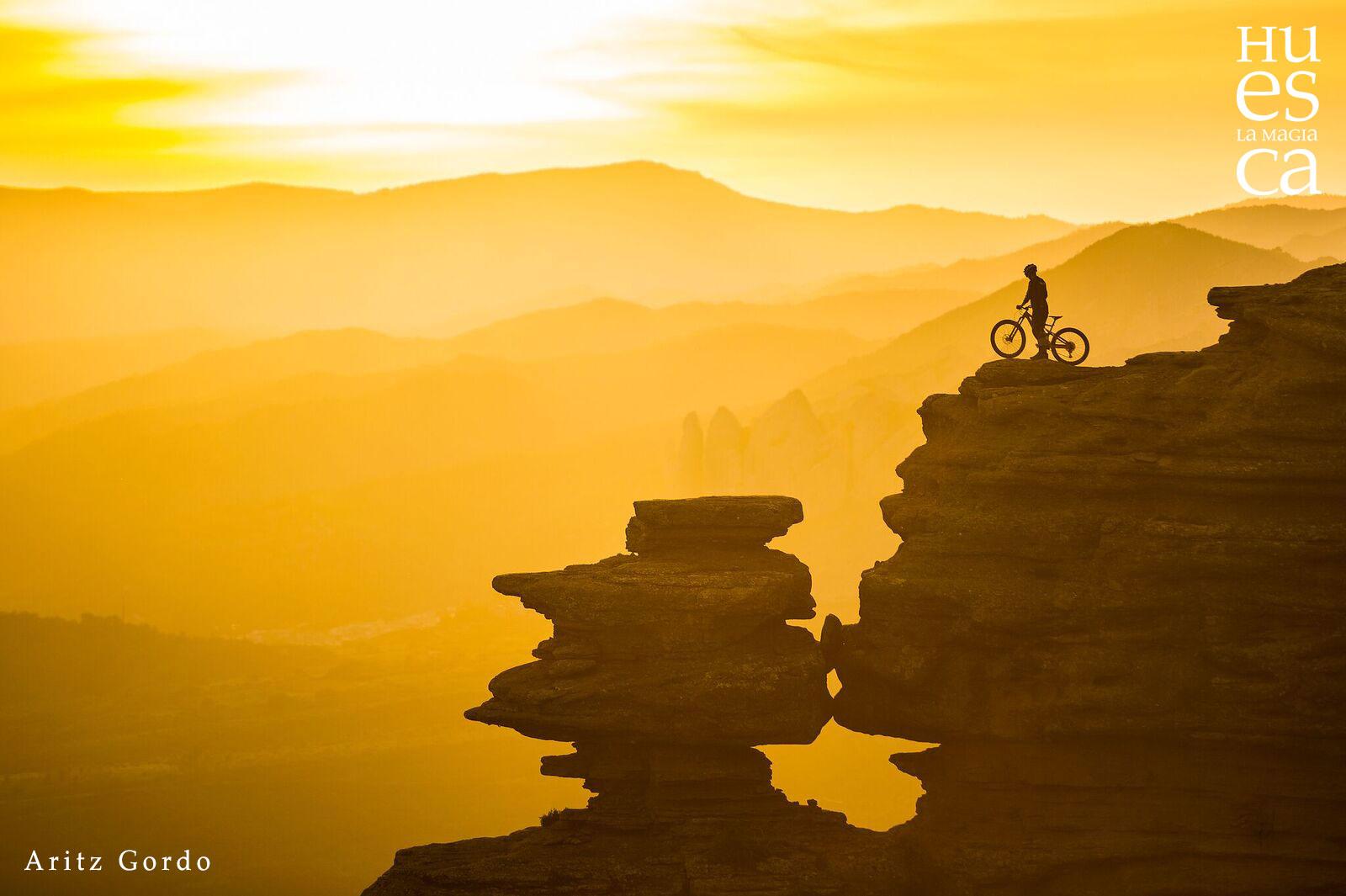 Huesca 🚵♂️  un auténtico paraíso para los amantes de la bicicleta