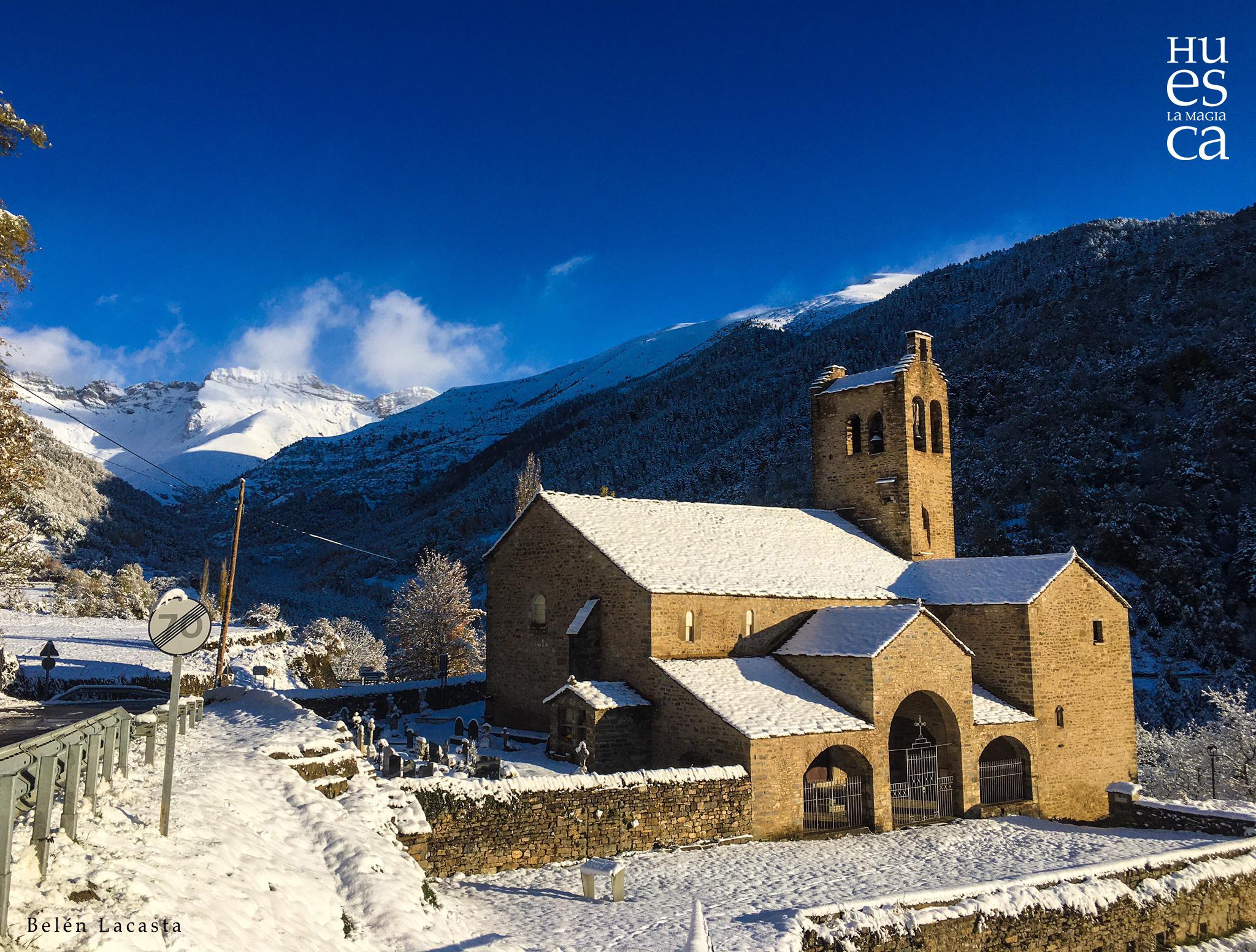 San Miguel en Linás de Broto ⛪️💎 una de las joyas de nuestro patrimonio