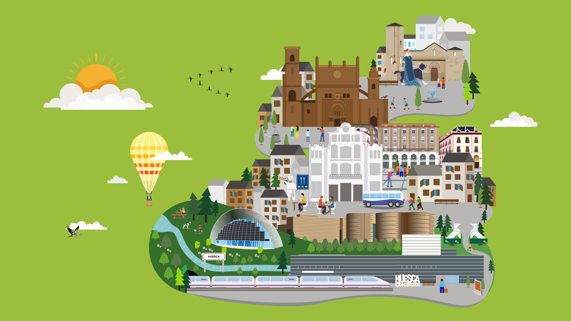 Bonos Turísticos para disfrutar de una Escapada a Huesca capital 👏